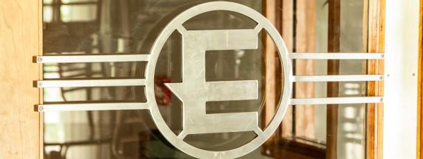 Electric door signage