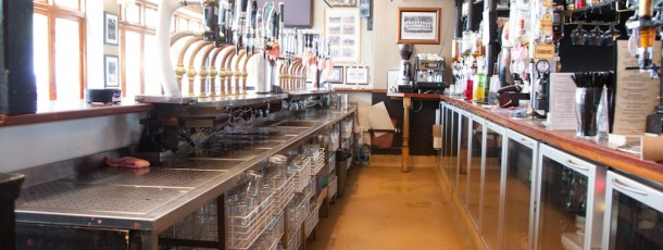 Crane Lane bar storage 1